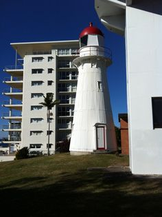Old Lighthouse, Caloundra, Sunshine Coast Coast Australia, Sunshine Coast, Lighthouses, Cn Tower, Wonderful Places, Country, Heart, Building, Pictures