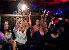 Kimberly Wyatt parties at Cirque Du Soir Dubai!