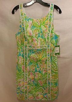 NWT Lilly Pulitzer fryer shift dress elephant ears size 10