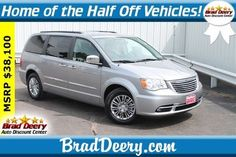 Vehicles for Sale in Maquoketa, IA. View our Brad Deery Auto Group inventory to find the right vehicle to fit your style and budget! Chrysler Town And Country, Touring, Cars For Sale, Centre, Vehicles, Leather, Vehicle