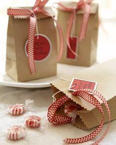 Christmas bag, really cute.
