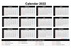 Printable Yearly Calendar, Daily Calendar Template, Excel Calendar, Weekly Calendar, 2021 Calendar, Blank Calendar, Calendar With Week Numbers, Holiday Words, Templates Printable Free