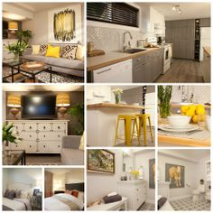 Cheryl and Amreed's newly renovated basement apartment #IncomeProperty #HGTV