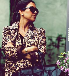 love this coat and Kourtney K