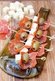 Image result for platters for hors d'oeuvres skewers