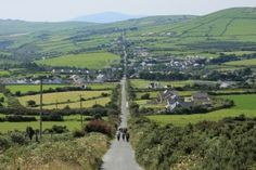 Annascaul is a small lively village in the heart of the Dingle Peninsula, County Kerry, Ireland