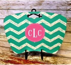 Monogram Lap Desk - Design Your Own! Cindy at Stanford will be looking chic as she studies! Greek letters available, too.  #CoolSchoolGear