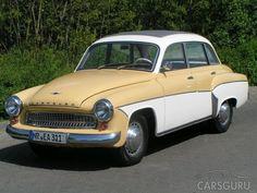 1960 Wartburg 311 Deluxe mit Faltschiebedach