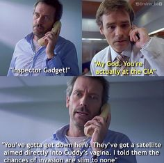 Whatever It Takes: Season 4 Episode 6: originally broadcast on Fox on November 6, 2007 | Dr. Gregory House (Hugh Laurue) and Dr. James Wilson (Robert Sean Leonard)