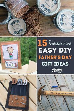 Keepsake Fathers Day Gift. Birthday Superhero Dad Gift Fridge Magnet