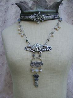 Victorian inspired by Debby Anderson © 2014 Romancing the Bling ~ Hand -Sculpted Hand