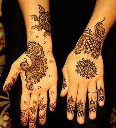 Latest Shaded Mehndi Designs 2016-2017 | BestStylo.com