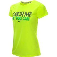 Nike Women's Catch Me Challenger Running T-Shirt