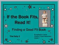 "a powerpoint on finding a ""good fit"" book!  The sounds didn't work for me, but a good intro to good fit books!"