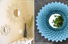 8 espelhos decorativos que você mesma pode fazer
