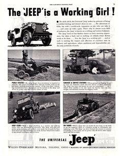 Jeep CJ Ads