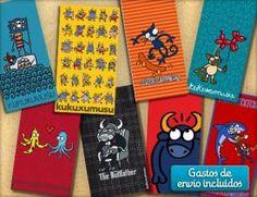 Las toallas de kukuxumusu son perfectas para él, pero también para ella. Luce toalla con diseños originales y divertidos con los cupones descuento de CaripenDeal. ¡Elige la tuya!
