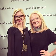 So much fun interviewing Pamella Roland today before her show! (Although I'm more than a little squinty in this pic!) Xo, Jordan #lovestyle #NYFW