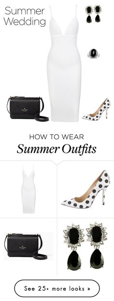 """""""outfit 42"""" by natycombo on Polyvore featuring Oscar de la Renta and Kate Spade"""