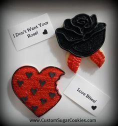 Anti-Valentine Cookies!