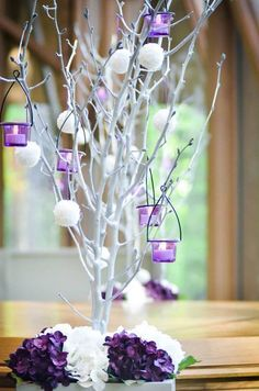 1000 ideas about manzanita tree centerpieces on pinterest for Baby shower tree decoration