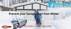 Steps to Prevent your #GarageDoor from Winter Abuse  Get garage door maintenance tips by Riverside Garage Door Experts #garagedoorrepair #opener #roller http://www.riversidegaragedoorexperts.com/blog/steps-prevent-garage-door-winter-abuse/