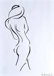 Billedresultat for naked woman drawing Woman Drawing, Life Drawing, Figure Drawing, Drawing Sketches, Pencil Drawings, Painting & Drawing, Art Drawings, Minimalist Drawing, Erotic Art