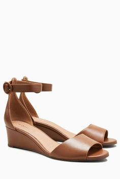Buy Tan Simple Wedges from the Next UK online shop