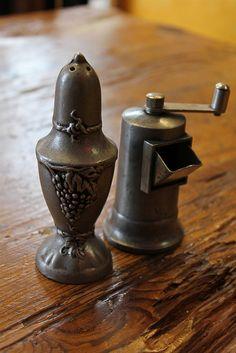 Antique Salt & Pepper Shakers
