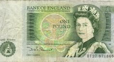 One Pound Note £1
