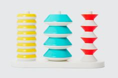 Pattern stacker toy