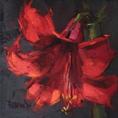 Related image #OilPaintingRed #OilPaintingFlowers