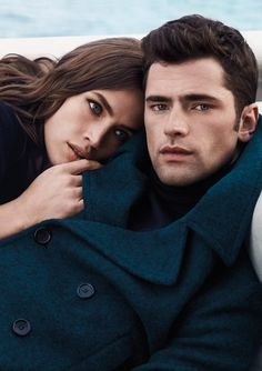 Sean O'Pry & Crista Cober for Cerruti 1881 Fall Winter 2015 Couple Posing, Couple Portraits, Couple Shoot, Couple Pictures, Couple Photography Poses, Portrait Photography, Friend Photography, Maternity Photography, Couples Modeling
