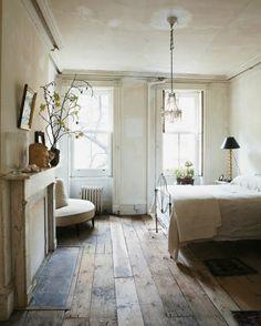 NOIR BLANC un style: Un incroyable loft dans le jus du 19e siècle en plein New York.
