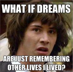 Oh Keanu conspiracy. Lol