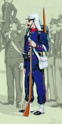 Οι στολές του Ελληνικού Στρατού κατά περιόδους   Army gr Army History, French Foreign Legion, Imperial Army, Army Uniform, French Army, 19th Century, Battle, Empire, Versailles