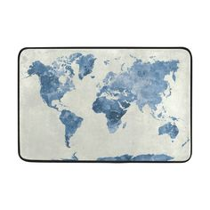 Amazon demonco vintage retro old world map door mat rug map amazon demonco vintage retro old world map door mat rug map of the world welcome mat doormat entrance kitchen bathroom mat rug outdoor indoo gumiabroncs Image collections