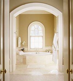 also in master bedroom bathroom color scheme needs to match that of the master bedroom and the glass walkin shower