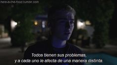 pain, pool and suicide image on We Heart It Thirteen Reasons Why, 13 Reasons, Words Can Hurt, Let Me Down, Last Episode, Sad Day, Sad Love, Spanish Quotes, We Heart It
