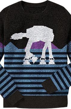AT-AT Star Wars Sweater: Star Wars Mens Sweater