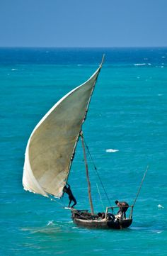 The dhows from Nungwi Beach head out for afternoon fishing in Zanzibar, Tanzania, Africa. Travel to Tanzania with Takims Holidays DMC. A member of Gondwana DMCs - your network of boutique Destination Management Companies across the globe - www.gondwana-dmcs.net