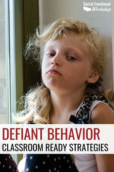 Classroom Strategies for Defiant Behavior. Noncompliance and defiant students are frequent issues in classrooms. It is important to prepare for defiant behavior, develop relationships with defiant students, and have strategies to manage defiant behavior. Behavior Plans, Classroom Behavior Management, Student Behavior, Behaviour Management Strategies, Behavior Charts, Classroom Behaviour, Special Education Behavior, Preschool Behavior, Behavior Incentives