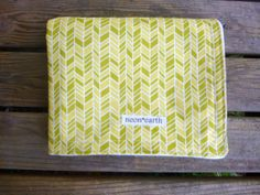 Organic Baby Blanket Flannel Swaddle Receiving by NeonEarth, $46.00