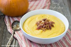 Rustic Bacon and Pumpkin Soup | The Paleo Mom