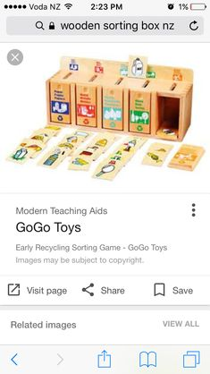 Sorting Games, Saved Pages, Teaching Aids, Kids Toys, Recycling, Modern, Teaching Tools, Children Toys, Repurpose