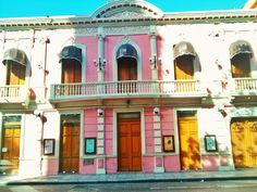 Casa colonial, Merida, Yuc. Mexico