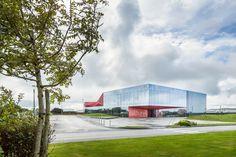 PERIPHERIQUES Architectes, Sergio Grazia · Espace culturel de la Hague