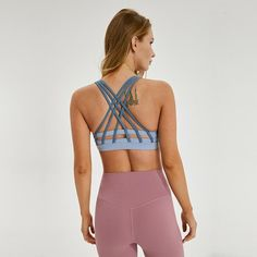 Sports Bras for Women Comfortable Yoga Bra with Removable Pads Running Crossback Yoga Tops Activewear Workout Clothes Piranhagym Gym Leggings, Sports Leggings, Yoga Fitness, Fitness Sport, Fitness Women, Comfortable Bras, Yoga Bra, Pilates Reformer, Yoga Tops