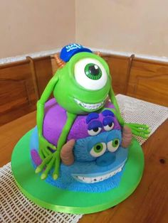 Torta Monster University, Minions, Character, The Minions, Minions Love, Lettering, Minion Stuff