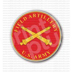 US Army Field Artillery Sticker